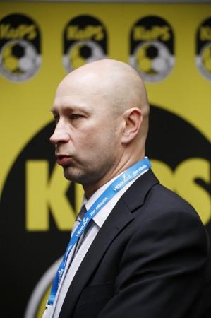 Pekonen on ruoskinut joukkueensa Suomen Cupin finaaliin jo kolmesti peräkkäin (Kuva Veera Visuri)